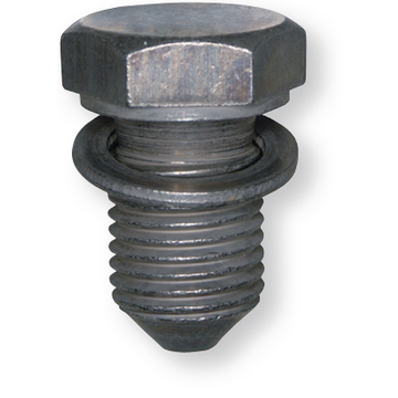 Oil drain screw M14x1,5x22, steel zinc-nickel plated